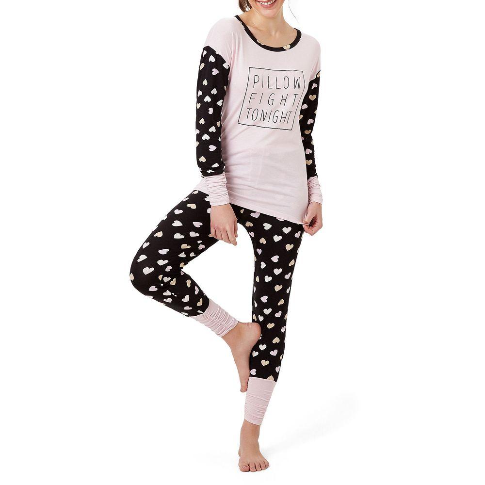 Pijama-Feminino-Joge-Legging-Viscolycra-Pillow-Fight