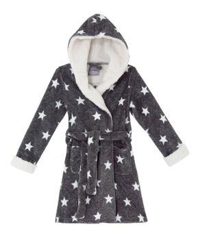 Robe-Infantil-Feminino-Lua-Lua-Fleece-Estrelas