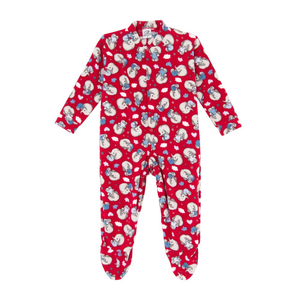 Macacao-Infantil-com-Pe-Papa-s-Wave-Soft-Dumbo