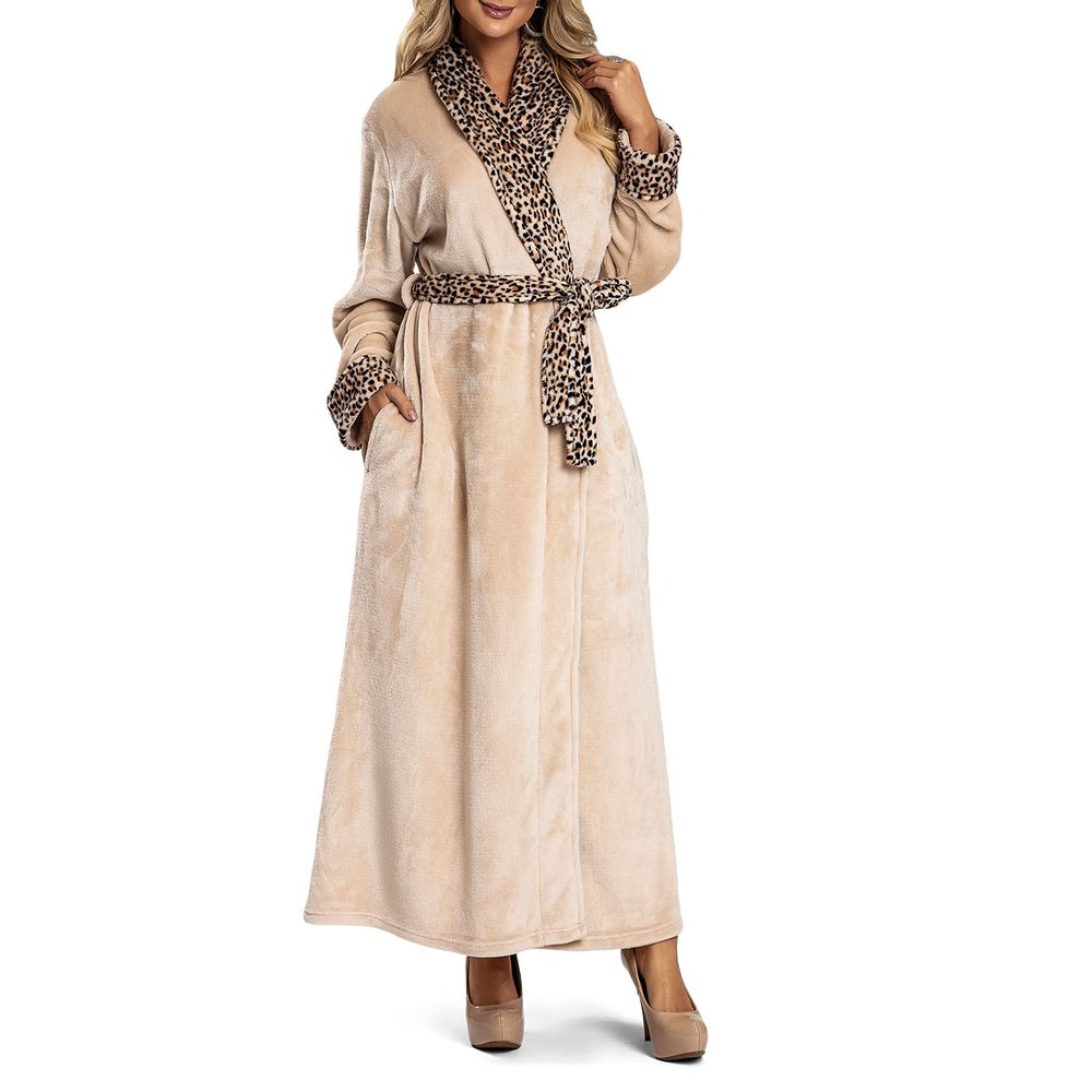Robe-Feminino-Recco-Peluciado-Prime-Comfort-Onca