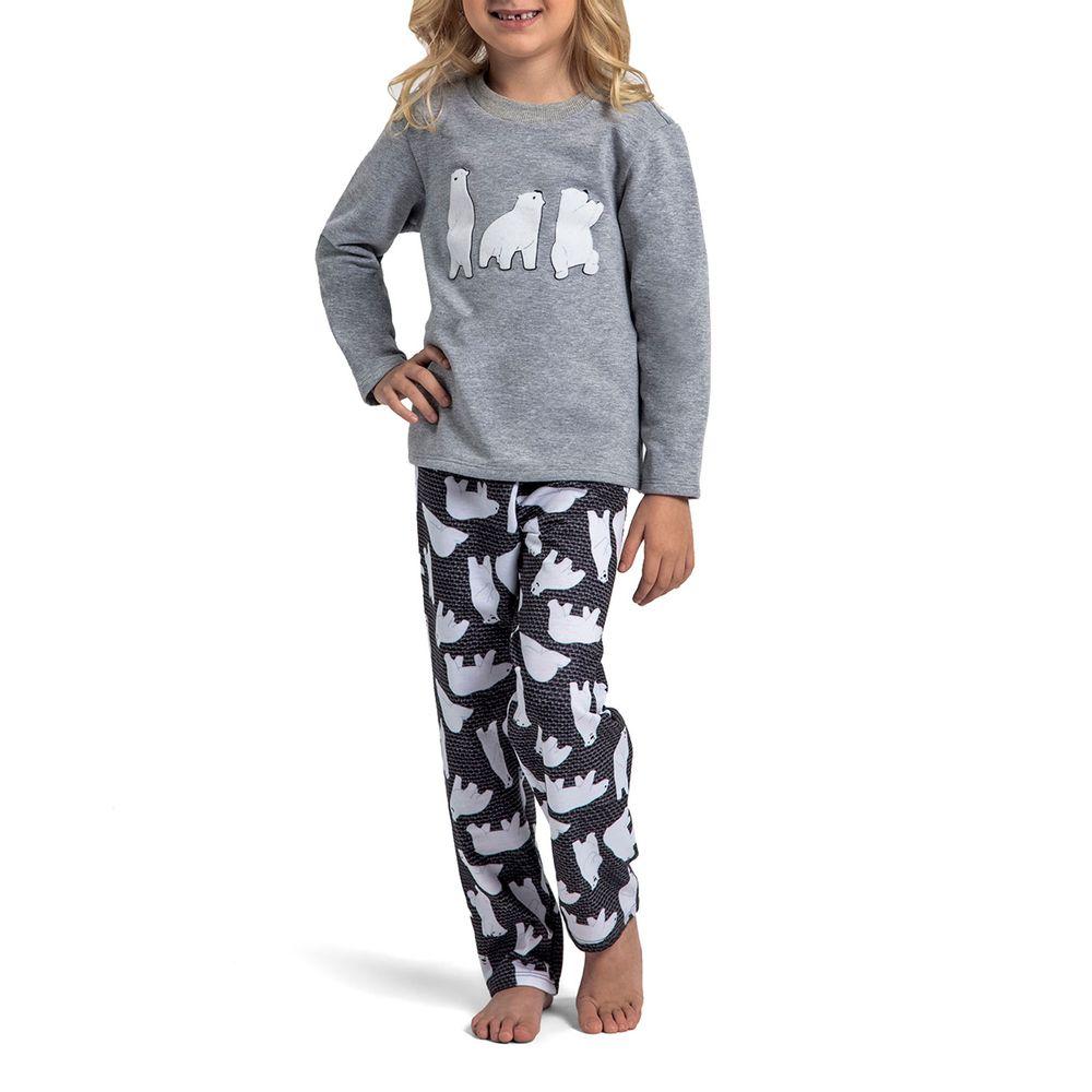 Pijama-Infantil-Feminino-Recco-Moletinho-Flanelado-Urso
