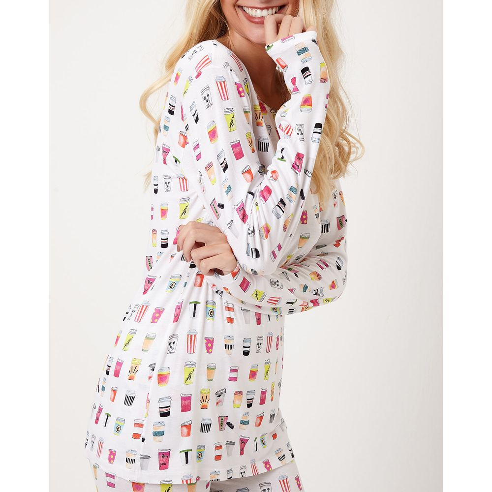 Pijama-Feminino-Longo-Joge-Viscolycra-Copos-Cafe