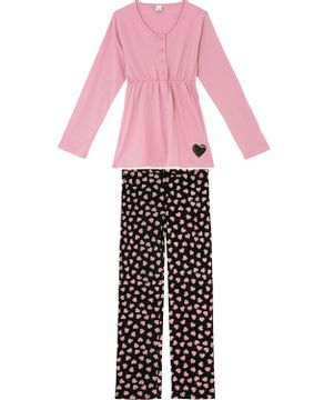Pijama-Amamentacao-Lua-Encantada-Algodao-Coracoes