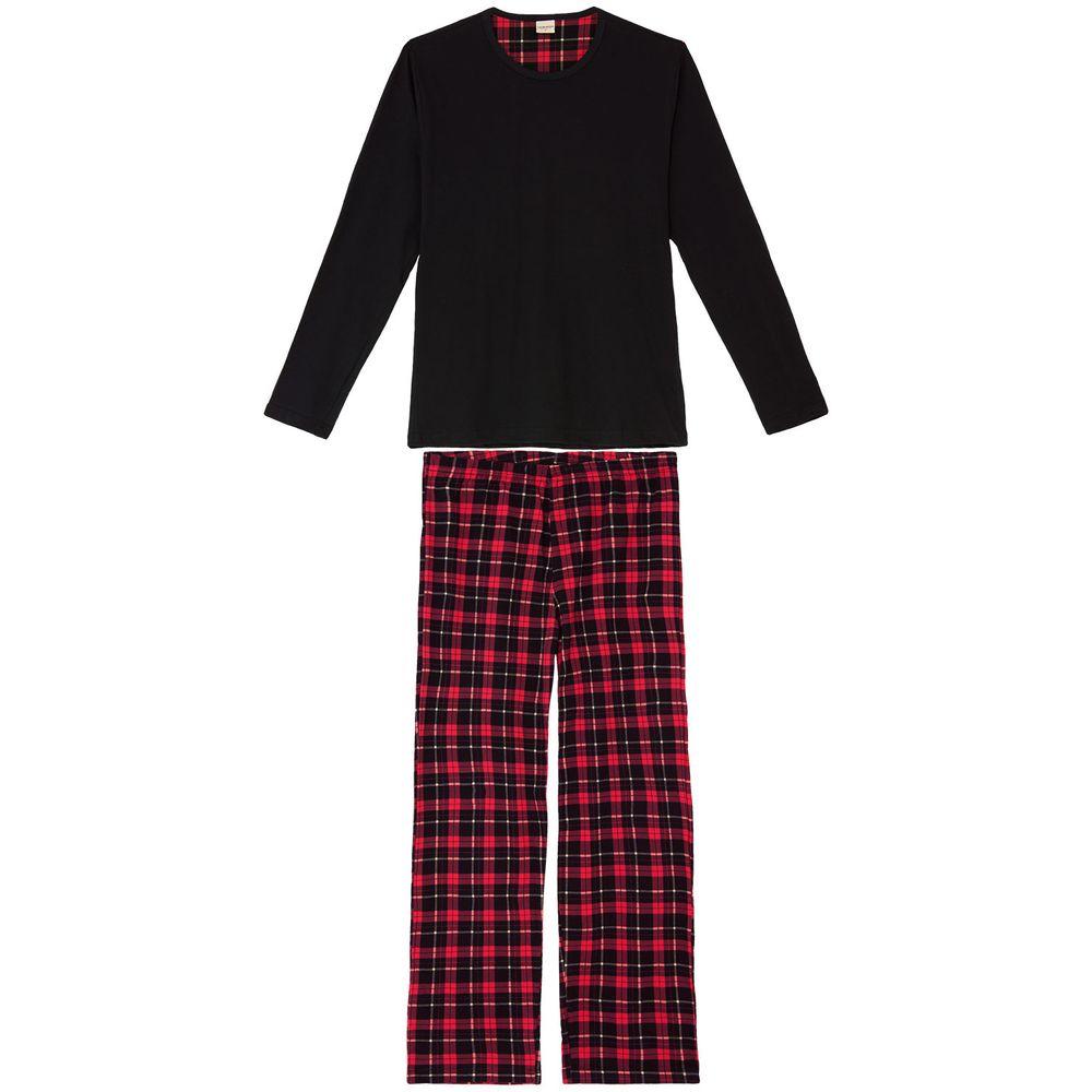 Pijama-Masculino-Lua-Encantada-Algodao-Xadrez