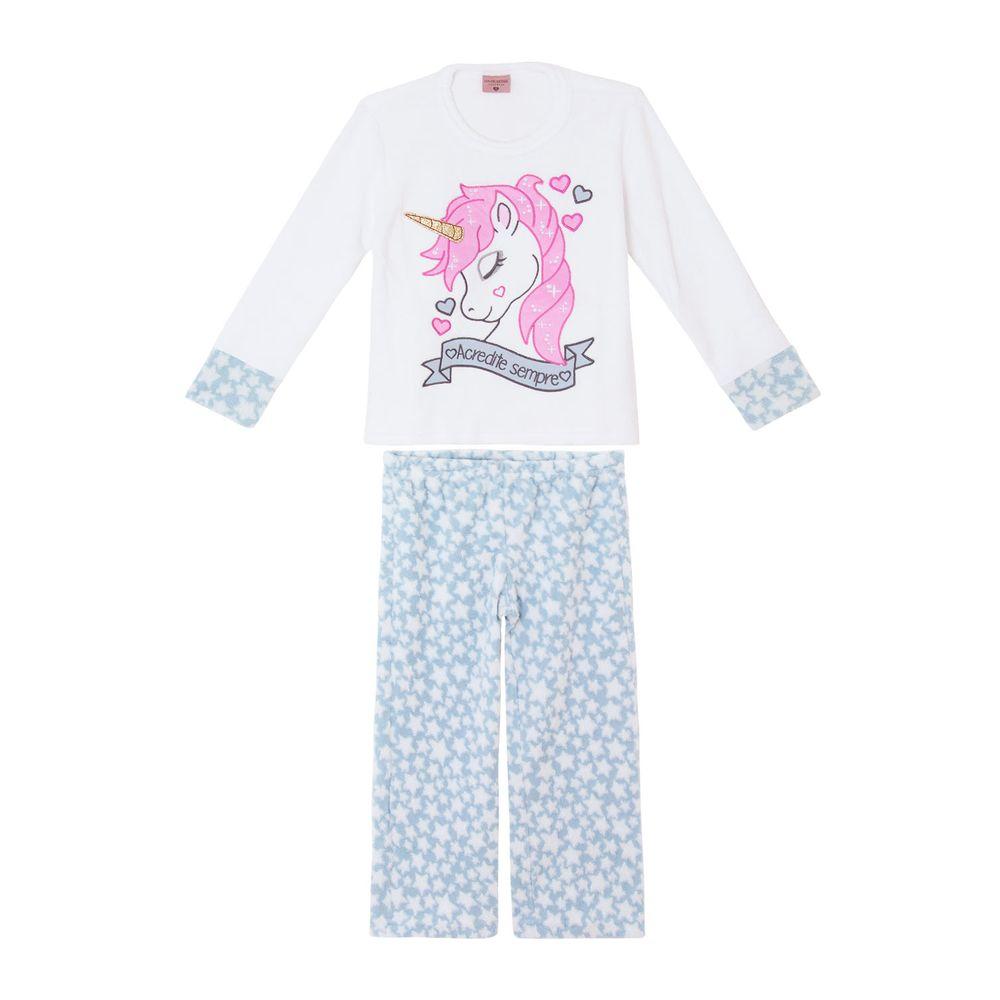 Pijama-Infantil-Feminino-Lua-Encantada-Soft-Unicornio