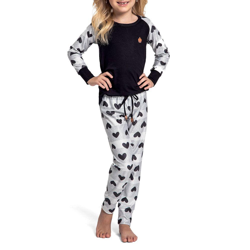 Pijama-Infantil-Feminino-Recco-Viscolycra-Coracoes