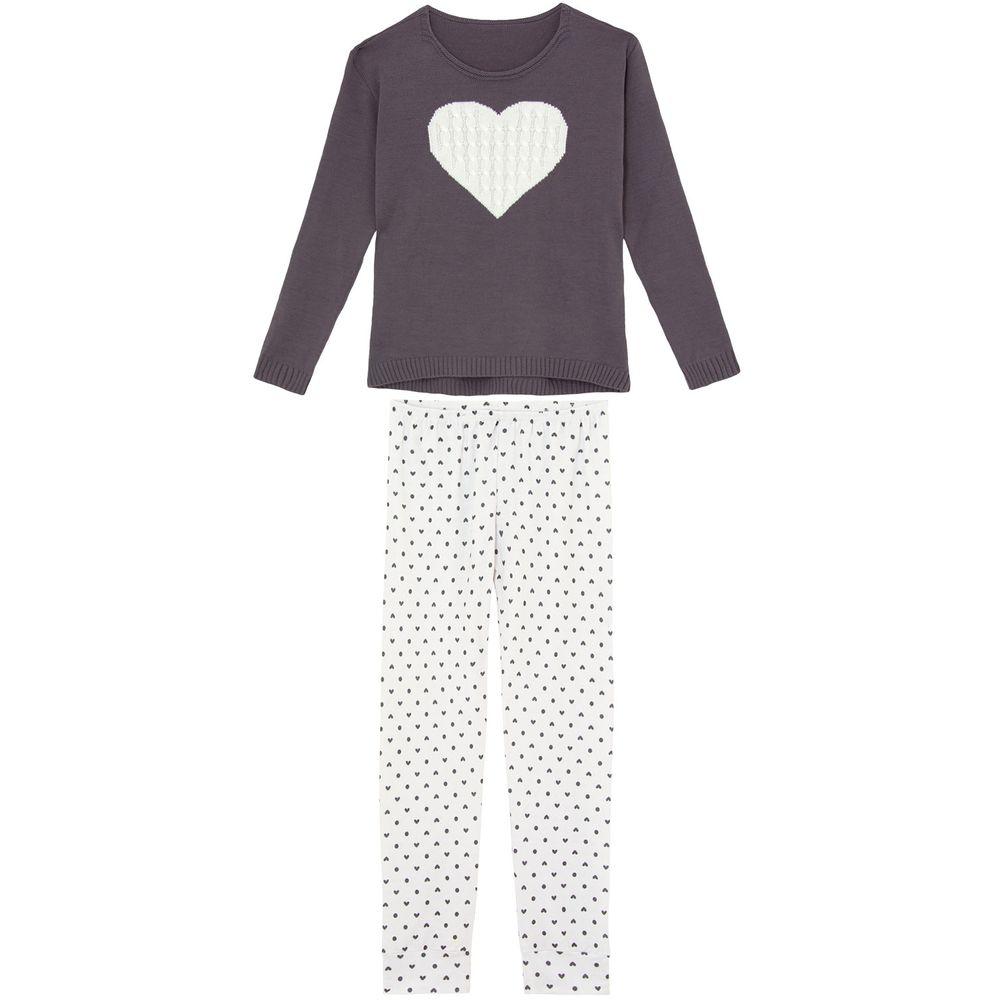 Pijama-Feminino-Recco-Trico-Moletinho-Flanelado-Coracao
