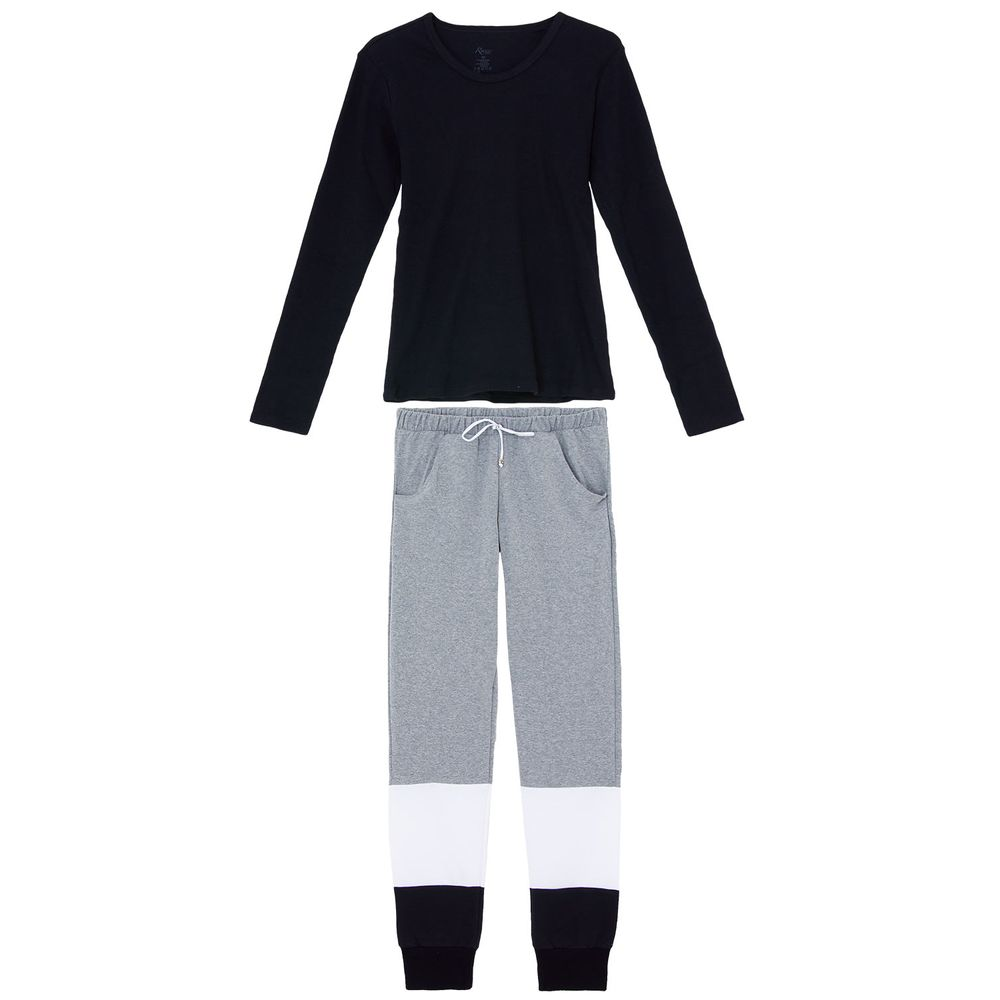 Pijama-Feminino-Recco-Canelado-Moletinho-Flanelado