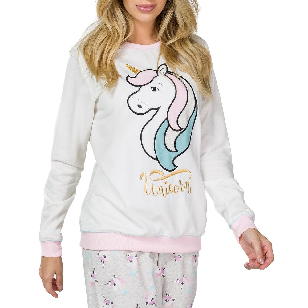 Pijama-Feminino-Lua-Cheia-Moletinho-Unicornio-Peluciado