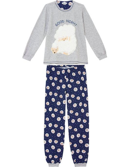 Pijama-Feminino-Lua-Cheia-Moletinho-Ovelha-Peluciada