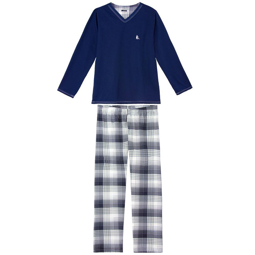 Pijama-Masculino-Lua-Cheia-Moletinho-Flanelado-Xadrez
