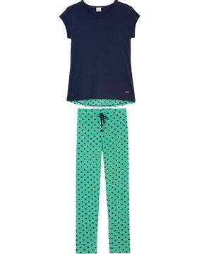 7a424a9ce Pijama-Legging-Lua-Encantada-Modal-Ribana-Poa