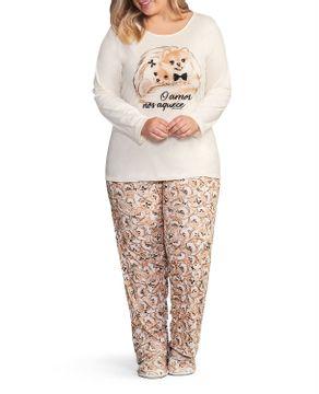 Pijama-Plus-Size-Feminino-Lua-Encantada-Algodao-Spitz