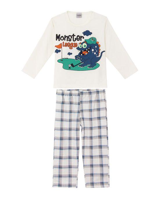 Pijama-Infantil-Masculino-Lua-Encantada-Moletinho-Monstro