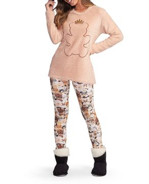 Pijama-Legging-Lua-Encantada-Peluciado-Urso