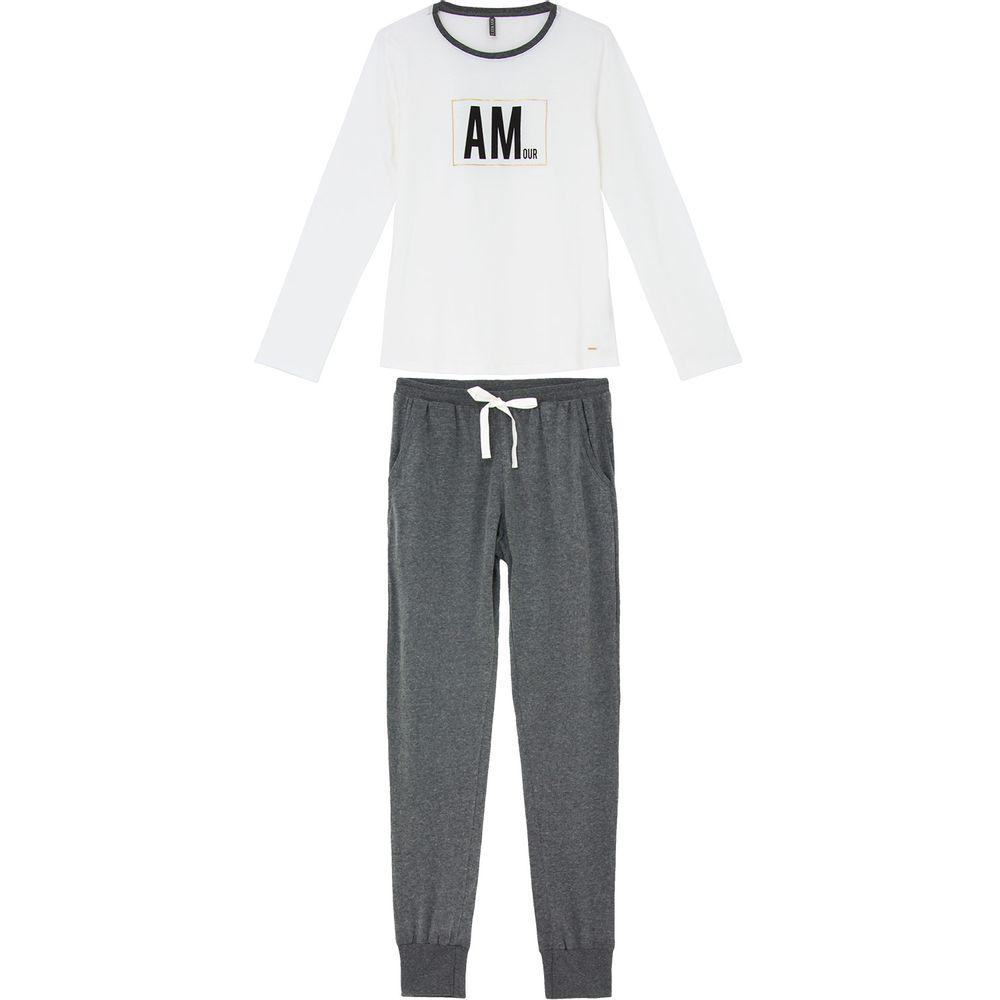 Pijama-Feminino-Lua-Lua-Longo-Algodao-Amour
