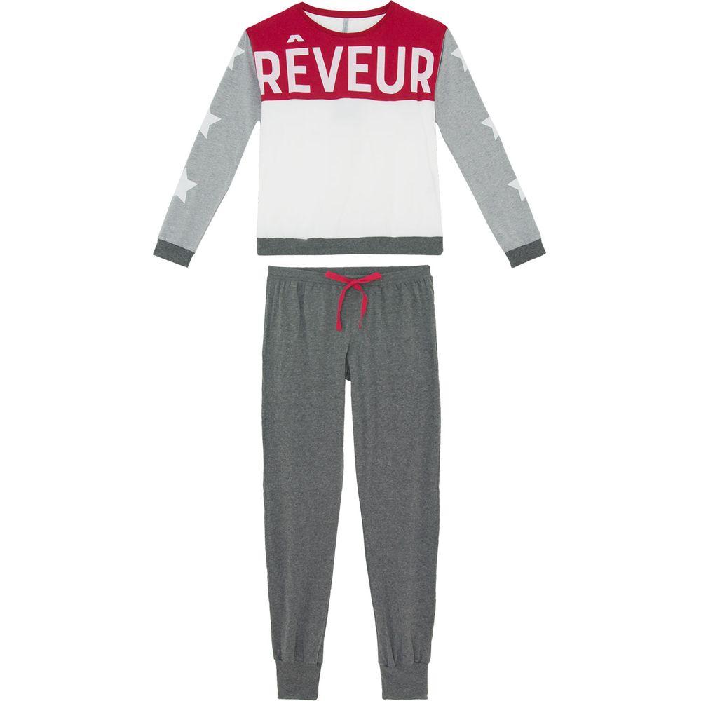 Pijama-Feminino-Lua-Lua-Longo-Algodao-Reveur