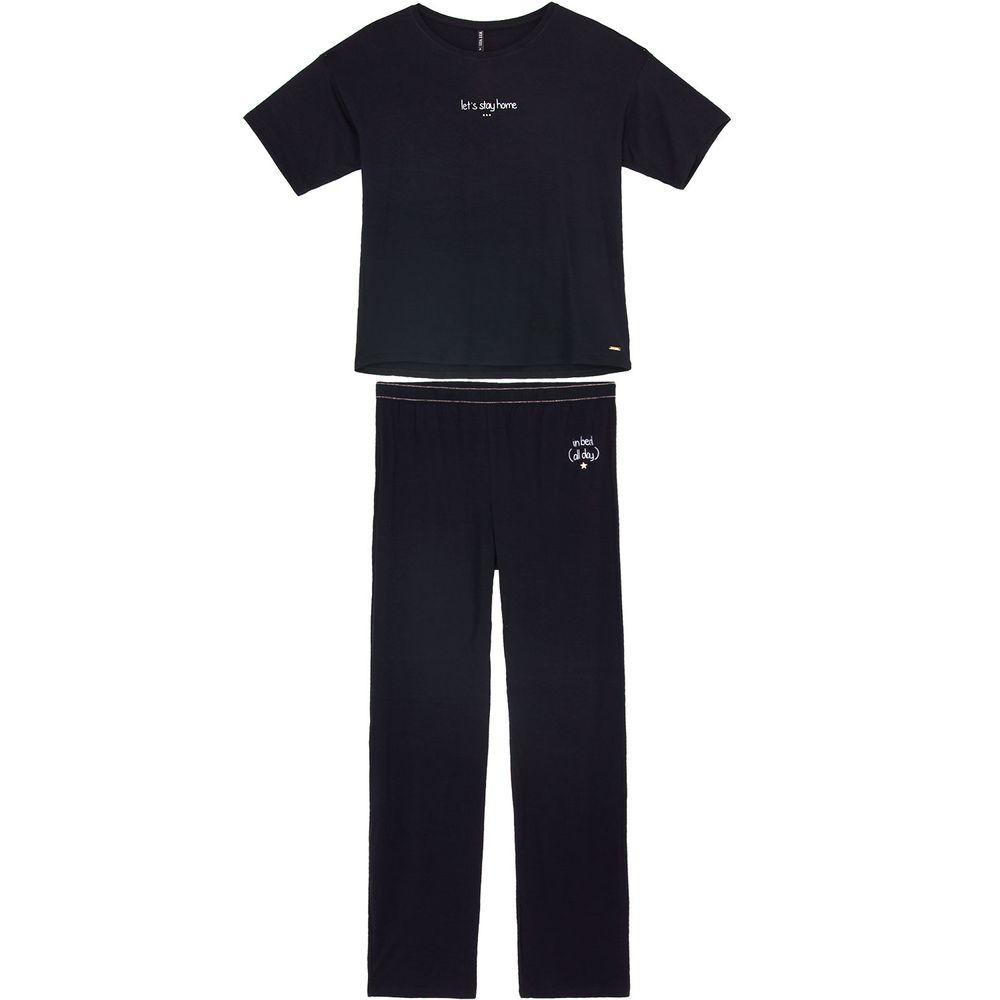 Pijama-Feminino-Lua-Lua-Viscolycra-Calca-Elastico-Lurex