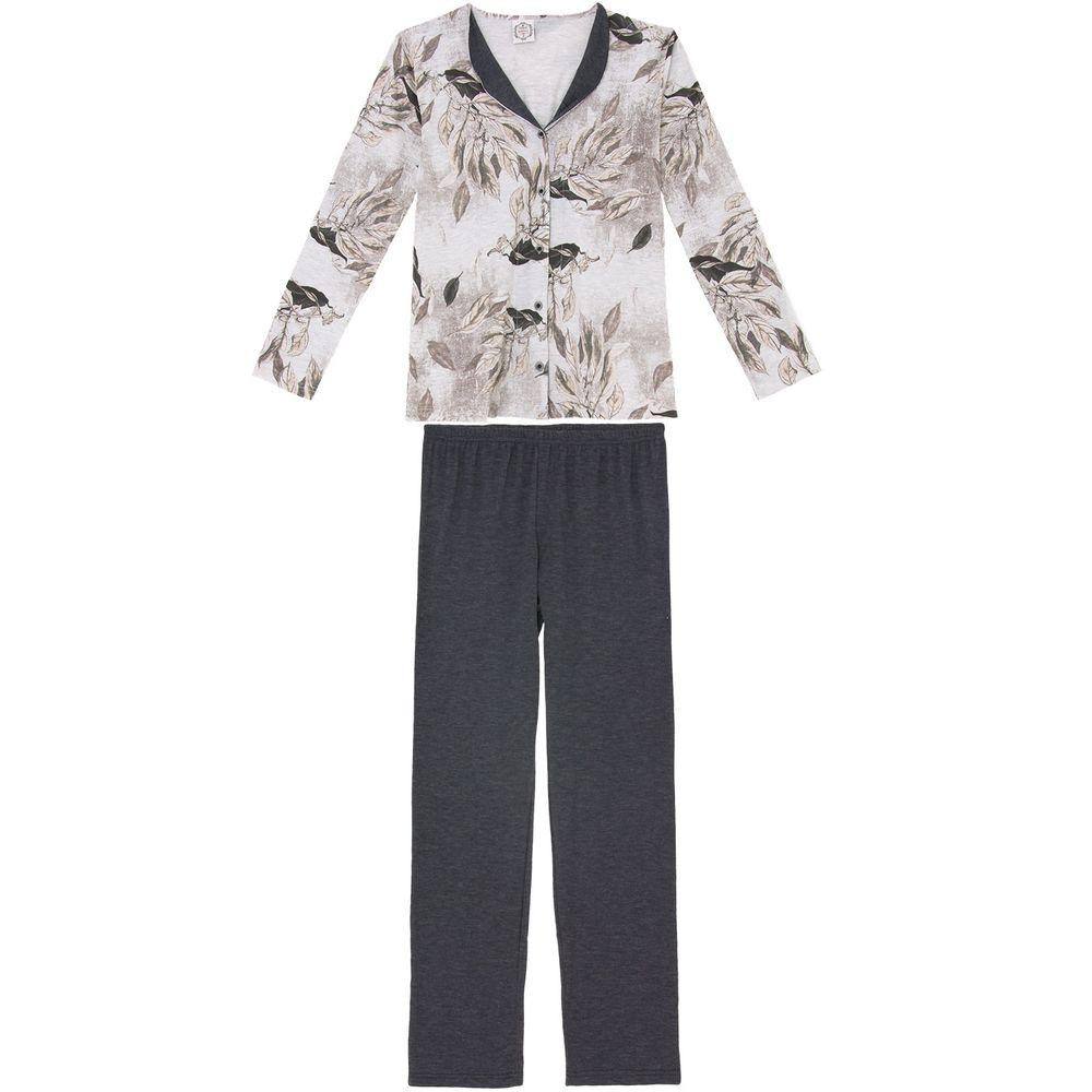 Pijama-Feminino-Toque-Intimo-Aberto-Algodao-Floral