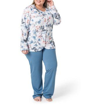 Pijama-Plus-Size-Feminino-Toque-Intimo-Moletinho-Floral