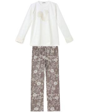 Pijama-Feminino-Toque-Intimo-Moletinho-Esquilo-Peluciado