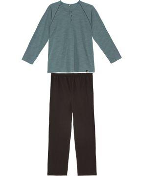 Pijama-Plus-Size-Masculino-Toque-Intimo-Longo-Flame