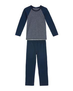 Pijama-Infantil-Masculino-Toque-Intimo-Algodao-Mescla