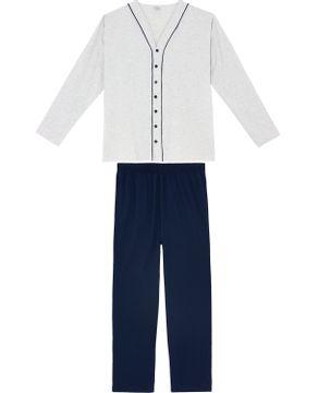 Pijama-Plus-Size-Masculino-Toque-Intimo-Longo-Aberto