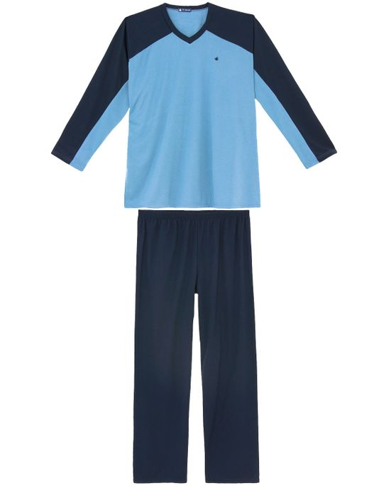 Pijama-Plus-Size-Masculino-Toque-Intimo-Moletinho-Faixa