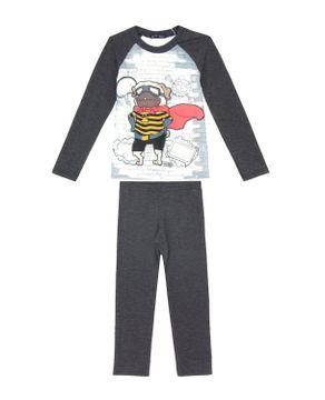 Pijama-Infantil-Masculino-Toque-Intimo-Pug-Abelha
