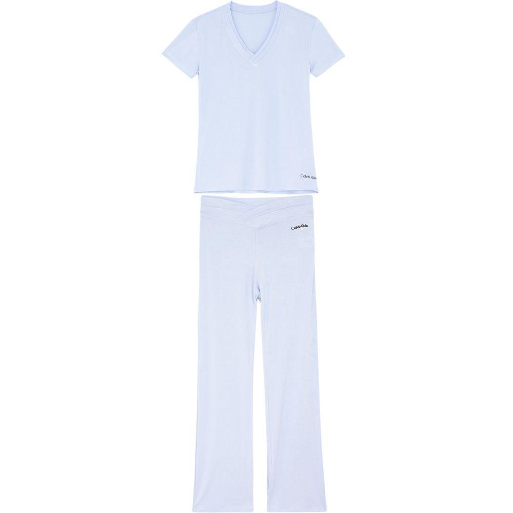 Pijama-Feminino-Calvin-Klein-Manga-Curta-Viscolight