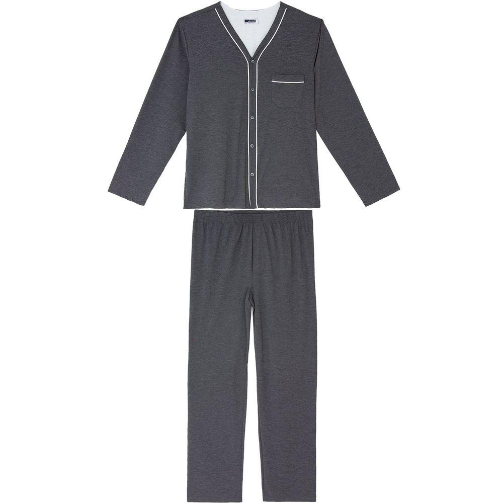 Pijama-Plus-Size-Masculino-Lua-Cheia-Aberto-Longo