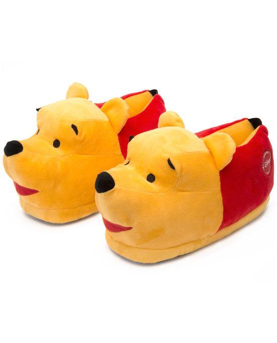 Pantufa-Ursinho-Pooh-3D-Ricsen-Antiderrapante