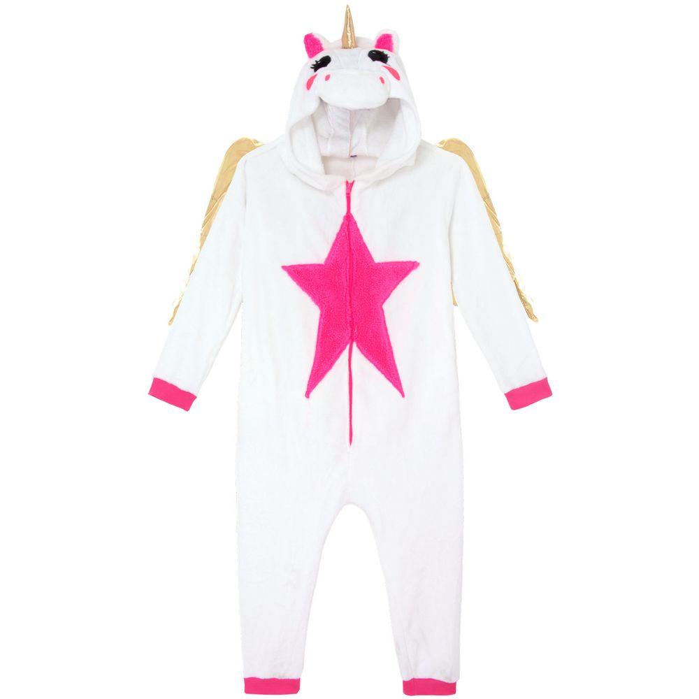 Pijama-Fantasia-Unicornio-com-Asas-Kigurumi