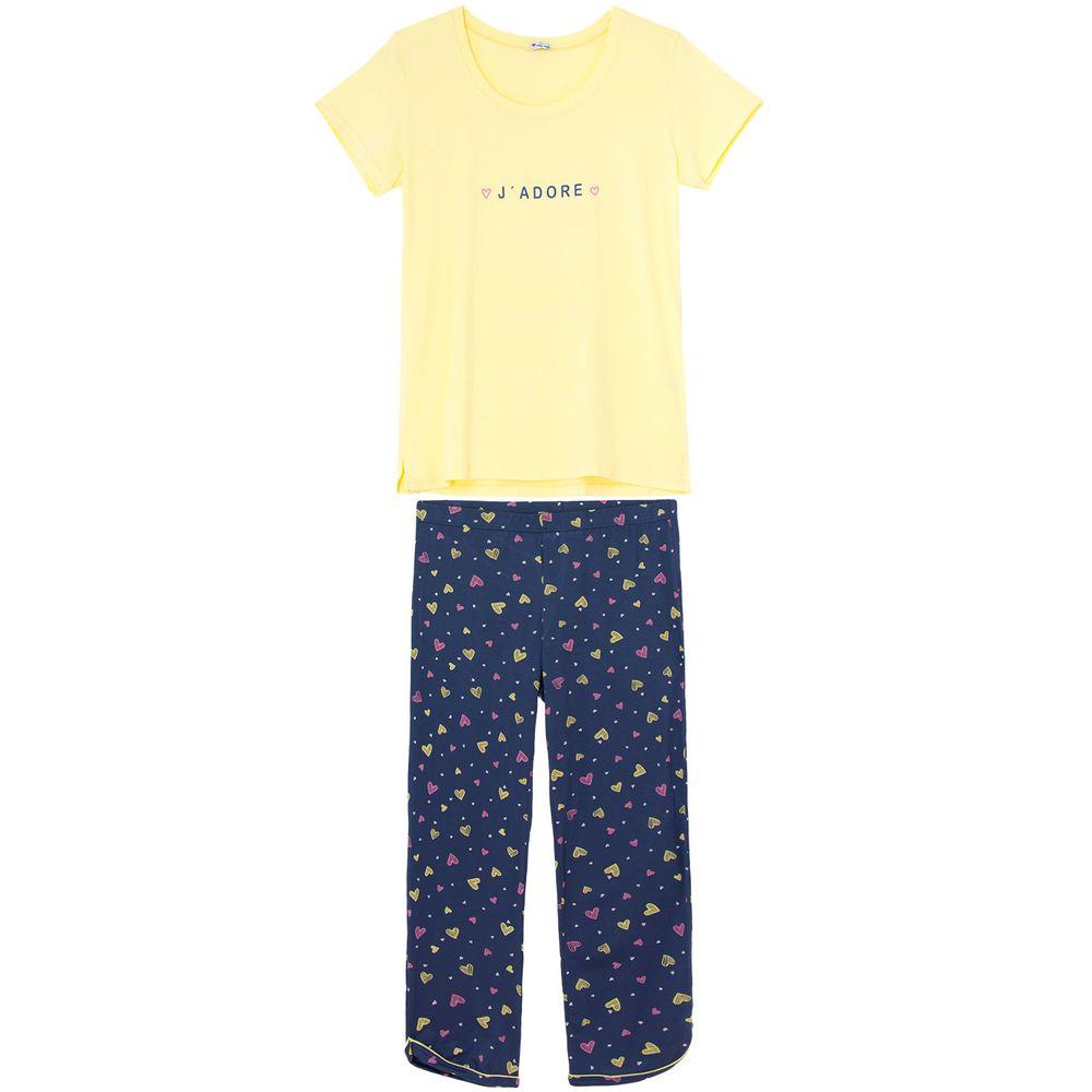 Pijama-Feminino-Any-Any-Viscolycra-Calca-Coracoes