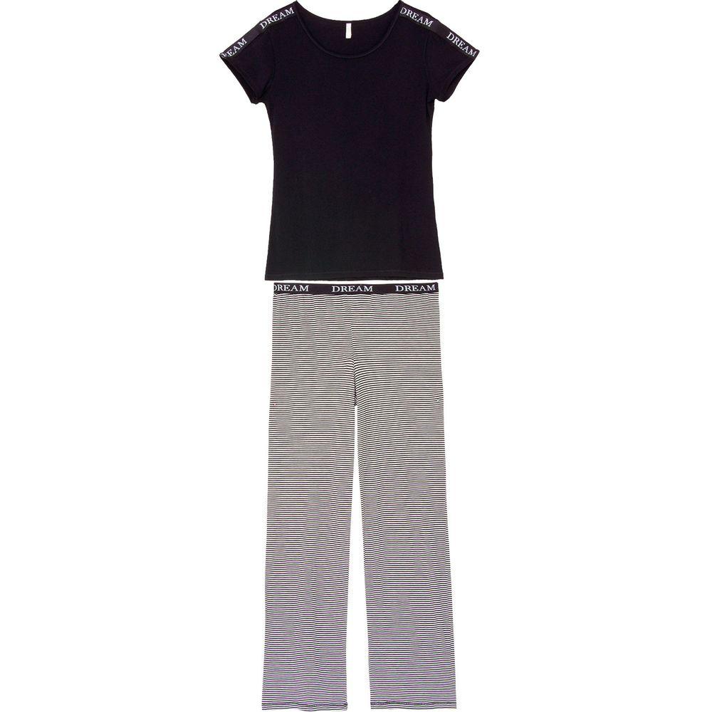 Pijama-Feminino-Joge-Manga-Curta-e-Calca-Viscolycra