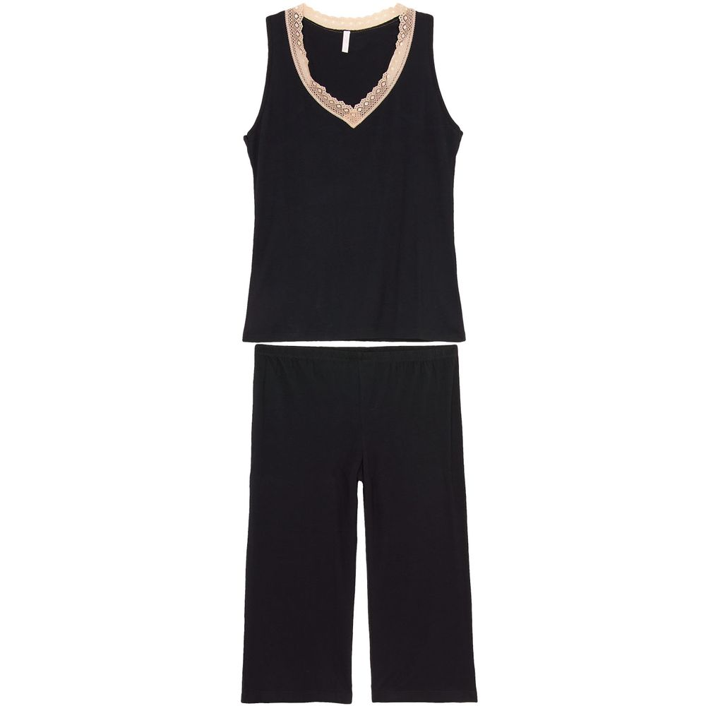 Pijama-Capri-Joge-Regata-Viscolycra-Renda