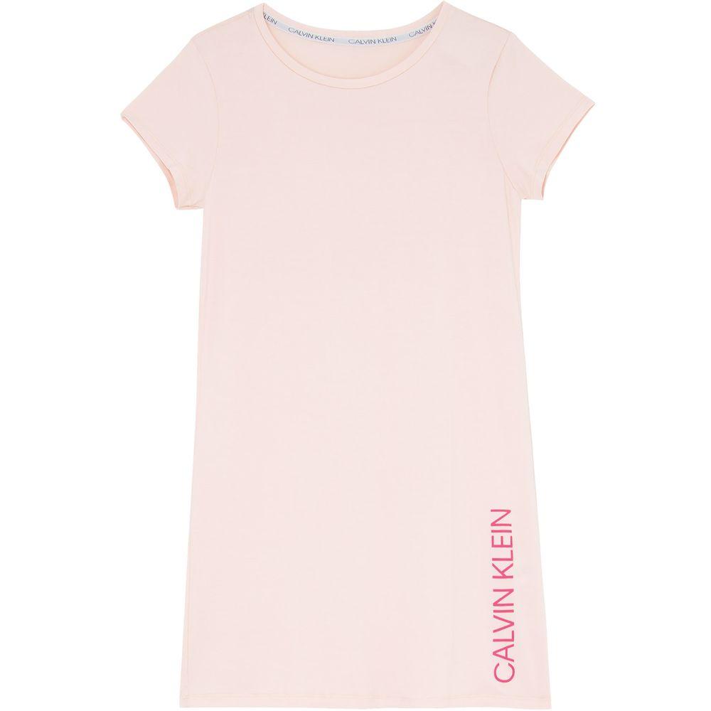 Camisola-Calvin-Klein-Manga-Curta-Viscolycra-Logo
