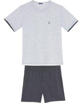 Pijama-Masculino-Lua-Cheia-Bermuda-Malha-Mescla