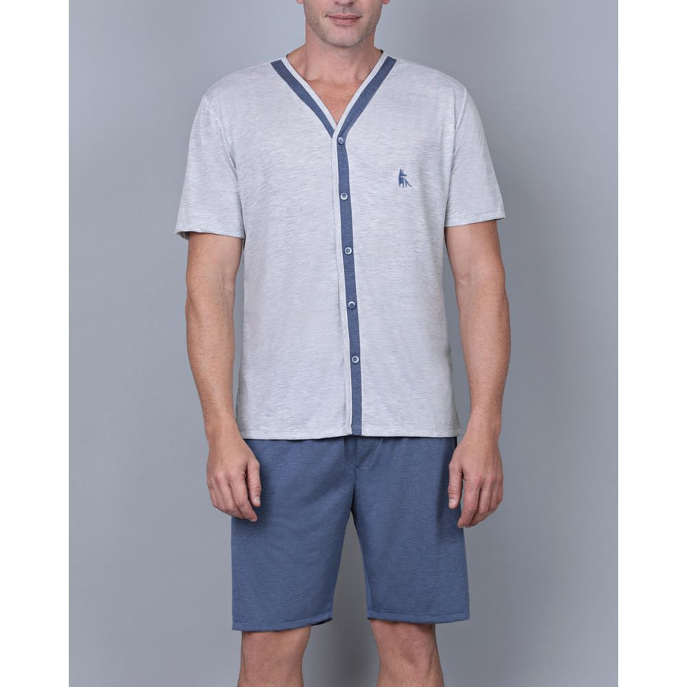 Pijama-Masculino-Lua-Cheia-Aberto-Malha-Mescla