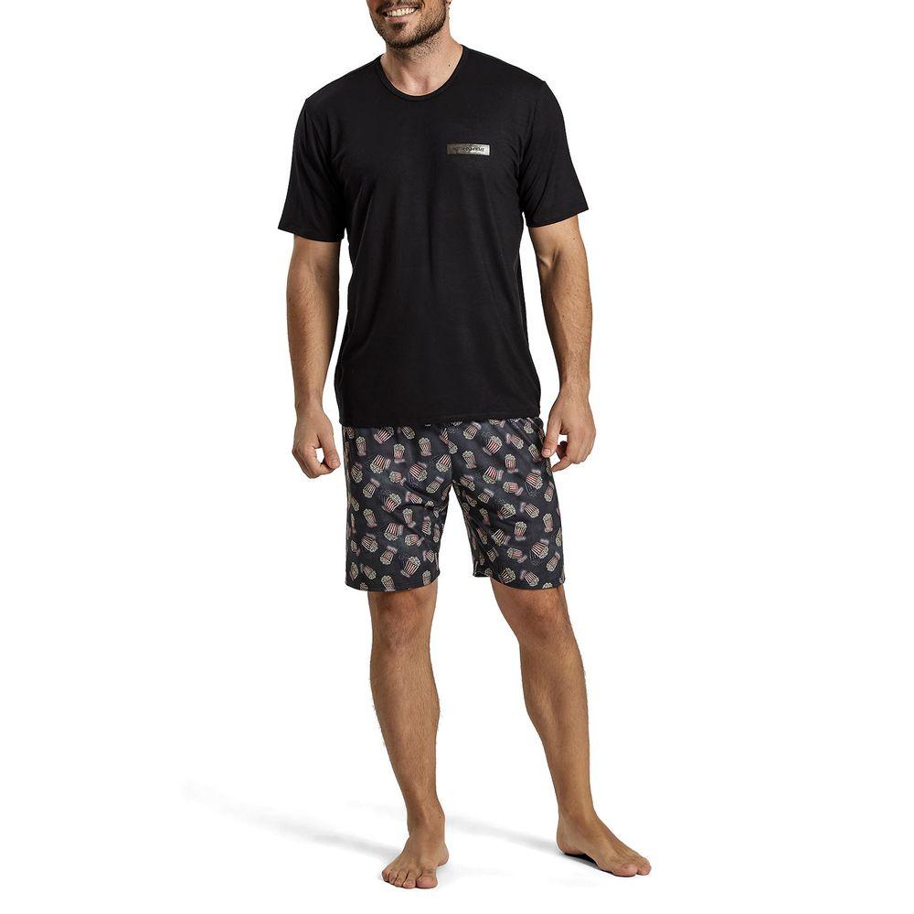 Pijama-Masculino-Recco-Viscolycra-Pipoca