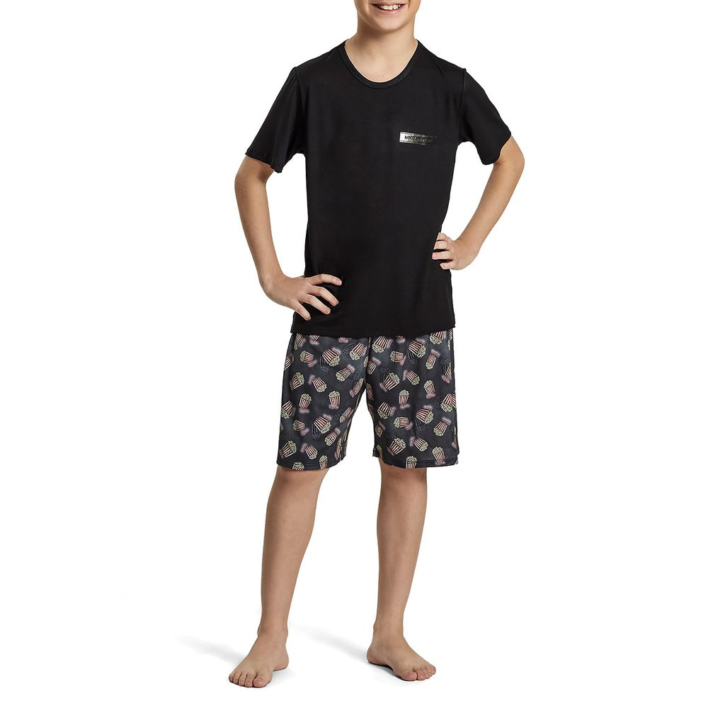 Pijama-Infantil-Masculino-Recco-Viscolycra-Pipoca