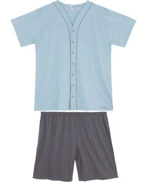 Pijama-Plus-Size-Aberto-Masculino-Toque-Botoes