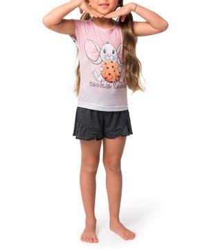 Pijama-Infantil-Feminino-Curto-Toque-Poliplex-Ratinho