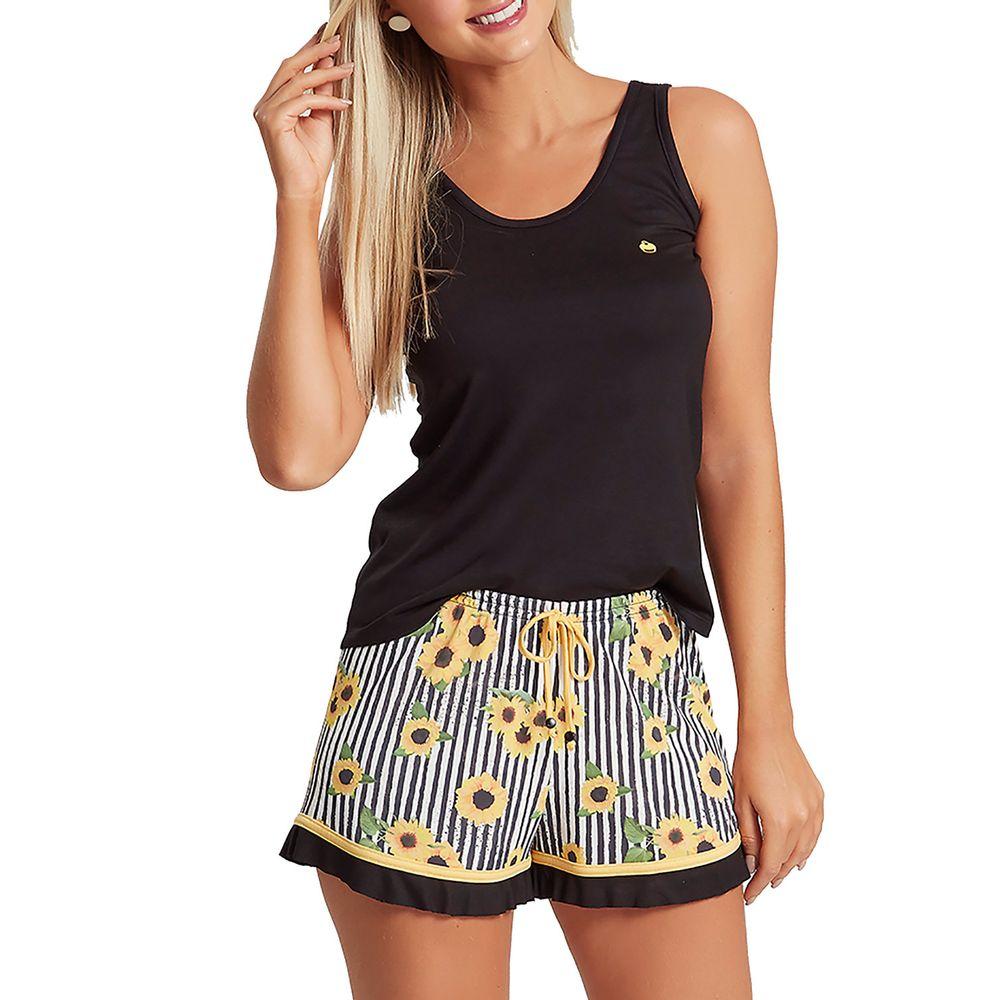 Pijama-Regata-Feminino-Recco-Visco-Microfibra-Flores