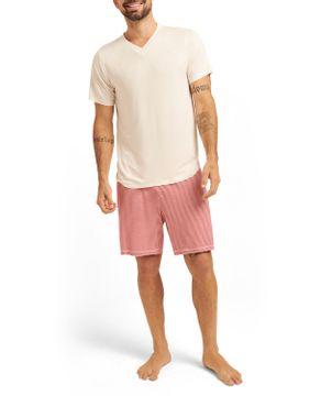 Pijama-Masculino-Curto-Joge-Viscolycra-Listras