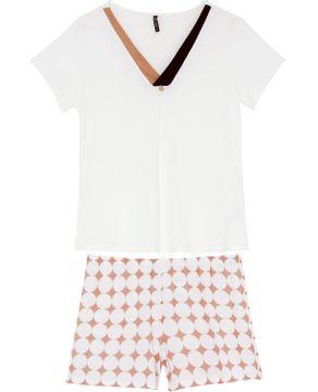 Pijama-Curto-Feminino-Lua-Lua-Viscolycra-Geometrico
