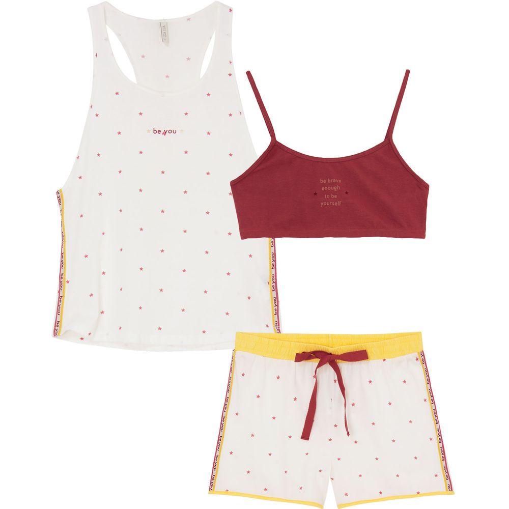 Pijama-Curto-com-Top-Lua-Lua-Regata-Algodao-Estrelas