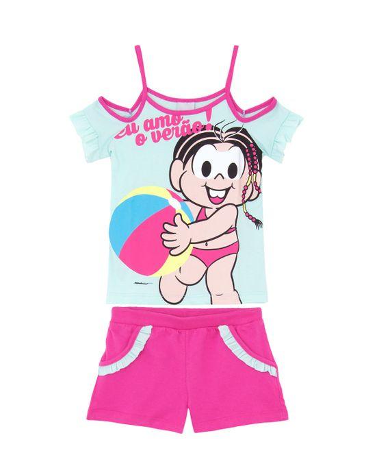 Pijama-Infantil-Feminino-Turma-da-Monica-Praia-Algodao