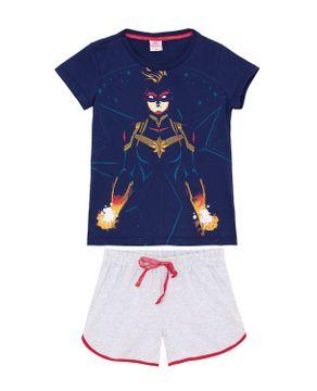 Pijama-Juvenil-Feminino-Capita-Marvel-Algodao
